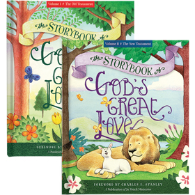 The Storybook of God's Great Love, Volumes 1 & 2 CHSETBKH