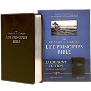 NKJV LP BIBLE (LARGE PRINT) - BLACK BONDED LEATHER LLPNKJBL
