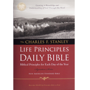 NASB LP Daily Bible - Hardcover LPNASBHC